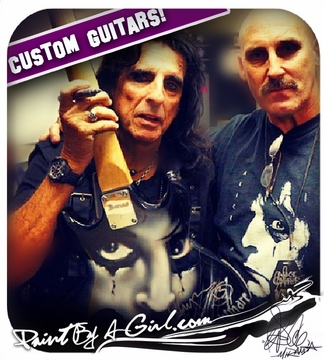 ALICE COOPER! - Welcome To THE Nightmare!!! -Custom Guitar