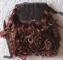 10 inch tie on Synthetic clearance ponytail color 4/130