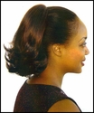 11 Inch Reversible Ponytail Bun Cover