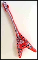 40 inch Inflatable Air Guitar - <br>  Flying V