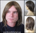Ally <br> Layered Man's Synthetic Wig