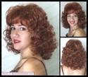 Amber <br> Chin Length Curly Wig