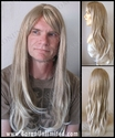 Aris <br> Synthetic Man's Long Wig