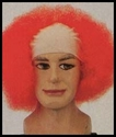Bald Clown Afro