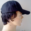 Human Hair -- Baseball cap with human hair