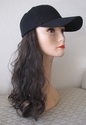 Baseball cap with hair SALE