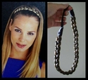 Braided Synthetic Head Band