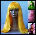 Budget Colorful Cleo Costume Wig