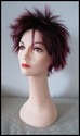 Burgundy Spikey Synthetic Wig Sale 59.99
