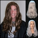 Chris <br> Synthetic Man's Long Wig