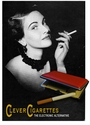 Classy Lady Vintage Electronic Cigarette Ad T-shirt