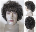 Mister<br> Synthetic Curly man's Wig