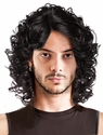 Shir<br> Lace Front Curly Man's Wig