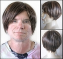 Echer<br> Synthetic Man's Wig