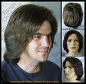 Edre <br> Synthetic Man's Wig