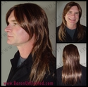 Glam Rocker<br> Synthetic Man's Wig