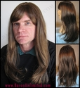 Henly <br> Man's Synthetic Wig