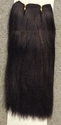 Human Hair -- weft hair 11 inches long -- Color 1b/33.