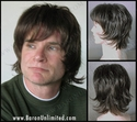 Isel <br> Synthetic Mans Wig