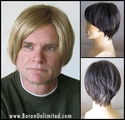 James <br> Synthetic Man's Wig