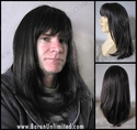 Jamil <br> Synthetic Man's Long Wig