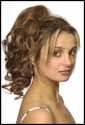 Curled Human Hair Ponytail <br>   $89.99 Introductory Price