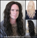 Yan <br> Synthetic Man's Lace Front Wig