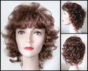 Lisa Synthetic Curly Wig
