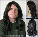 Lowgan <br> Synthetic Man's Wig
