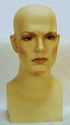 Male Plastic Wig Head