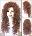 Merida<br> Synthetic Long Curly Wig