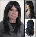 Midnight <br> Human Hair Synthetic BLEND Man's Wig
