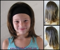 Millie Synthetic Child Size Headband Wig