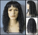 Morgan <br> Shoulder Length Curly Man's Wig