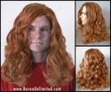 Mustaine <br> Long Synthetic Man's Wig
