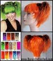 Ponytails Colorful Costume Wig
