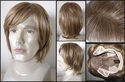 Claude Redish Brown full lace synthetic wig