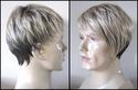 Blonde brown<br> Synthetic Man's Wig