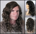 Roland <br> Curly Synthetic Man's Wig