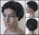 Short Curly Afro Style Synthetic Wig