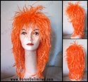 Spiky Colorful Rocker Wig