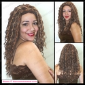 Spiral Curl Long Curly Synthetic Wig