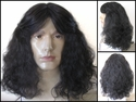 Magnom <br> Synthetic Curly Man's Wig