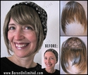 Synthetic Front and Side Piece -- Bang or Fringe
