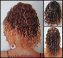 Synthetic Wavy Bun Cover - CLEARANCE