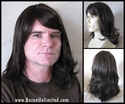 Thel <br> Synthetic Man's Wig