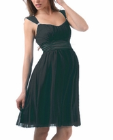 Pretty Carmen Cocktail Empire Waist Maternity Dress