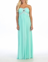 Chic Finley Long Maternity Evening Gown