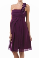 NEW! Emily One Shoulder Formal/ Special Occasion Maternity Dress