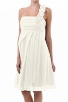 Emily One Shoulder Wedding / Bridal Maternity Dress